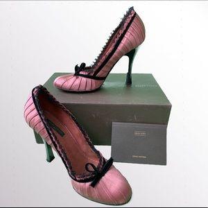 Louis Vuitton Pink Heels Size 37**
